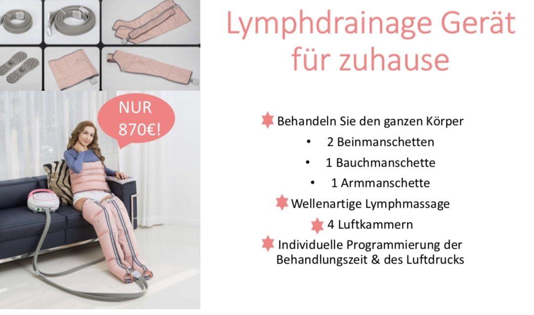 Lymphdrainage Heimgerät LYMPH SANTE Q220