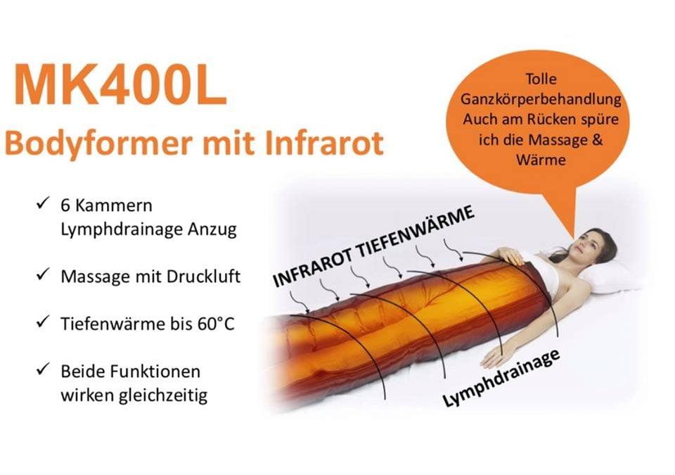 Infrarot Behandlung – Infrared treatment