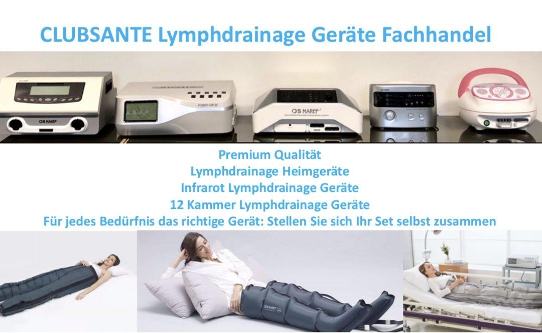 Ihr Spezialist für Lymphdrainage Geräte