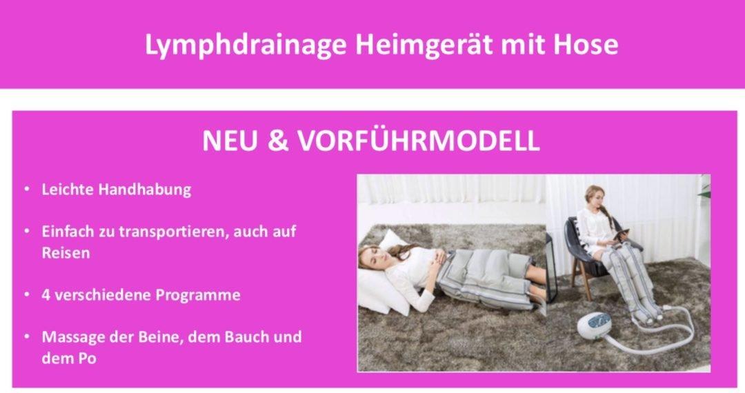 Lymphdrainage Heimgerät Neu / Vorfürmodell